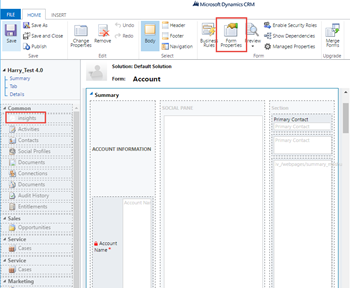 Enabling InsideView Insights for Custom Forms and UCI App in